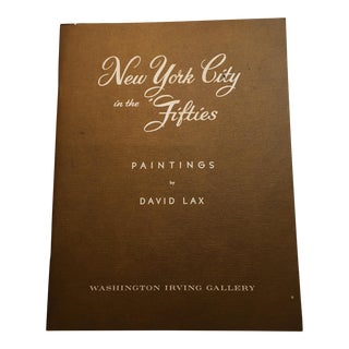 New York City in the Fifties: Paintings by David Lax