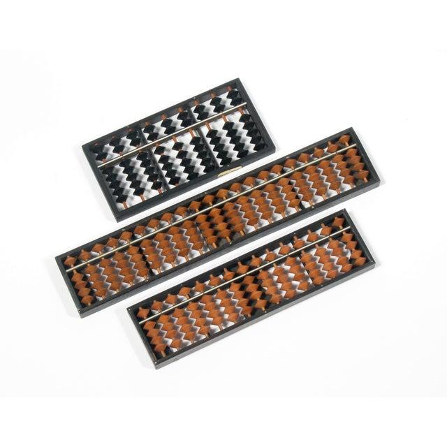 Japanese Mid Century Abacuses - Set of 3 - Image 1 of 4