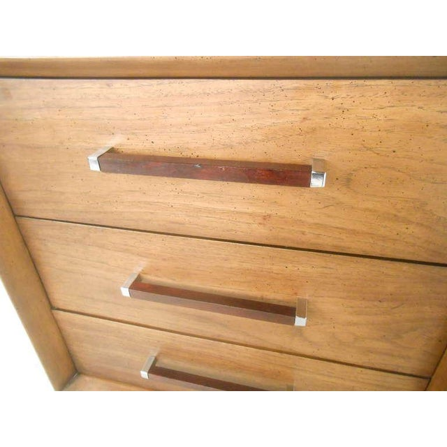 Mid-Century Modern American Walnut Dresser - Image 5 of 8