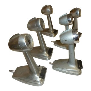 Vintage Art Deco Desk Microphones - Set of 6