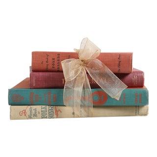 Vintage Book Gift Set: Folk & Music Stories, S/4