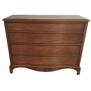 Contemporary Serpentine Chest of Drawers