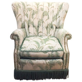 1950's Wingback Chair by Chamberlain