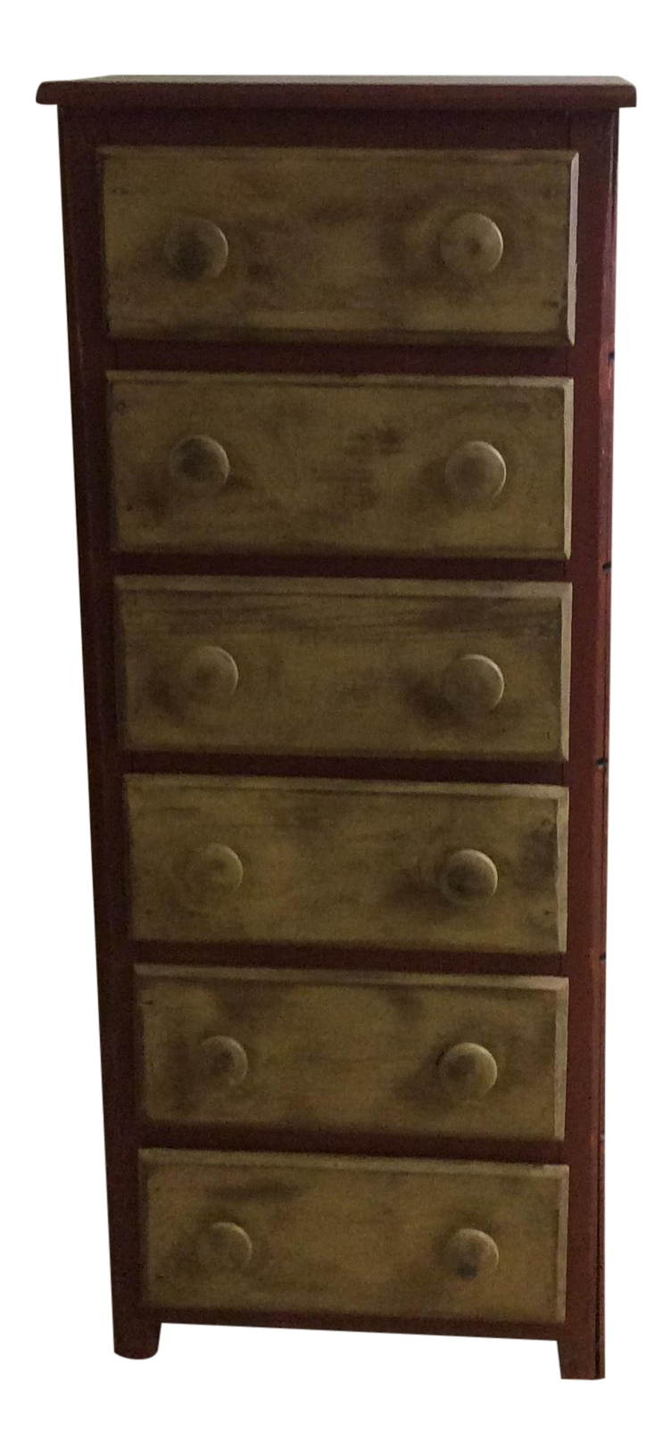 Country Style Two Tone Chest