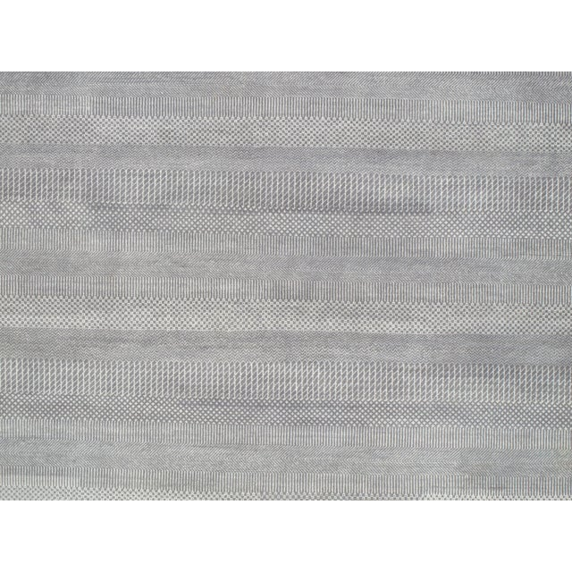 "Image of Pasargad Transitional Silk & Wool Rug - 9'11"" X 14'2"""