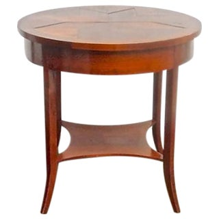 Vintage Niermann Weeks Round Side Table