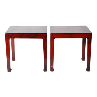 Pair of Chinese Side Tables