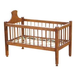 American Infant or Doll Cherry Crib