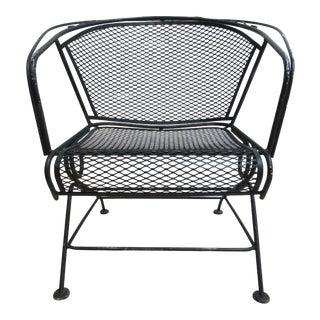 Vintage Woodard Mesh Outdoor Chair