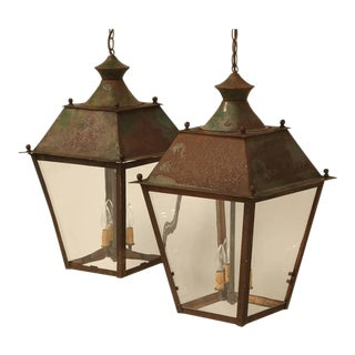 Pair of French Lanterns