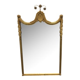 Gilded Empire Style Wall Mirror
