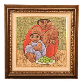 Mexican Style Oil Painting