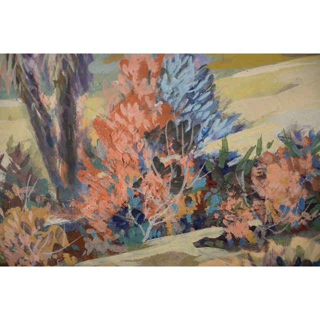 Indio Hills & Valley Desert Landscape Painting - Image 7 of 10