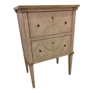Italian Handcrafted Nightstand by Patina