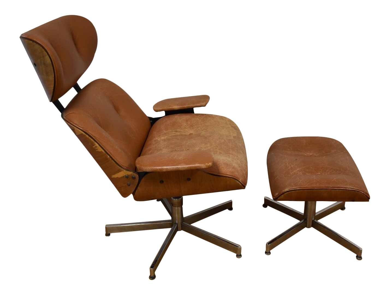 Vintage amp used chair amp ottoman sets chairish