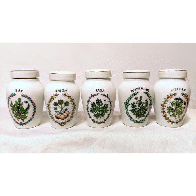 Franklin Mint Spice Jars - Set of 23 - Image 7 of 11