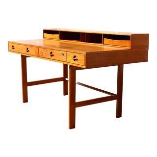 Peter Lovig-Nielsen Danish Flip Top Executive Desk