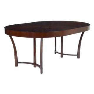 T.H. Robsjohn-Gibbings for Widdicomb Walnut Expandable Dining Table