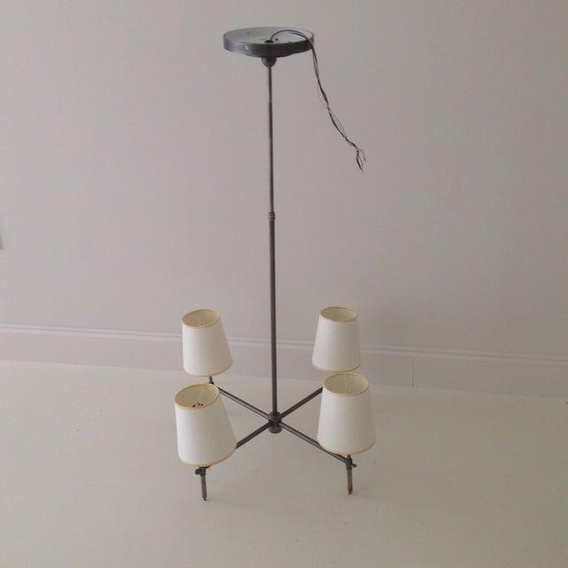 Visual Comfort Four-Light Chandelier - Image 7 of 11