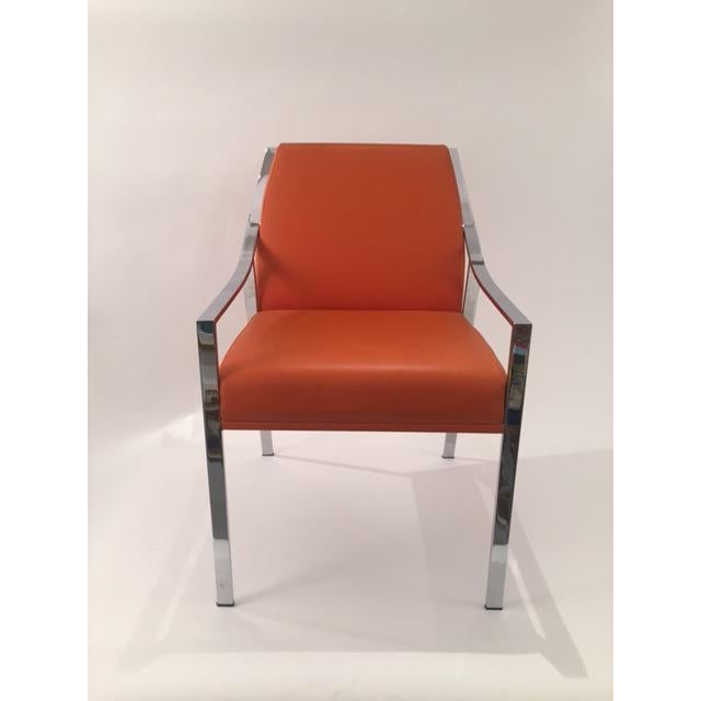 Image of Holly Hunt Aileron Dining Arm Chair