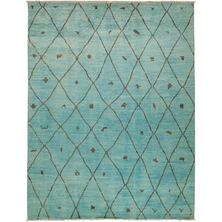 """Vibrance Hand Knotted Area Rug - 7'10"""" X 10'2"""""""