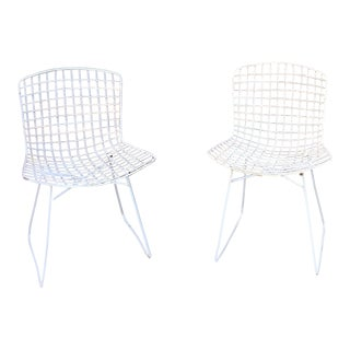 Knoll Harry Bertoia Side Chairs - A Pair