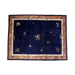 "Vintage Deco Peking Carpet - 9'2"" X 11'8"""