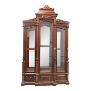 Victorian Renaissance Style Curio