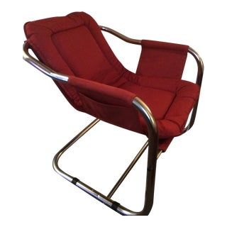 Mid-Century Modern Chrome Chair