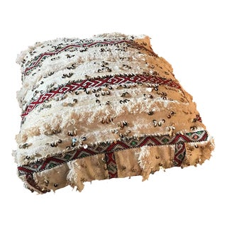 Authentic Vintage Moroccan Wedding Pouf