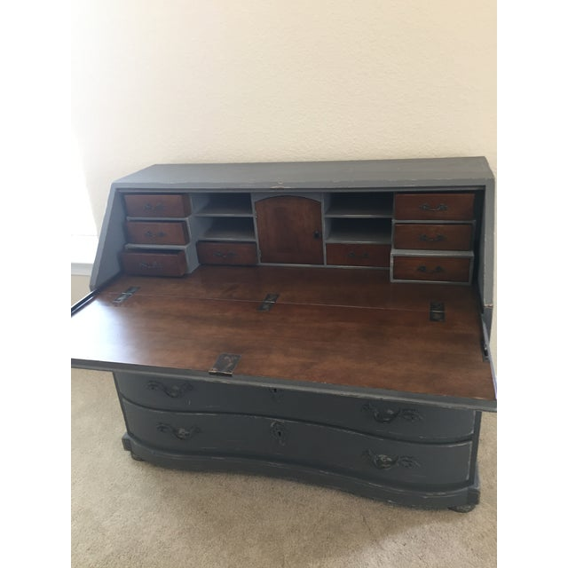 Image of Charcoal Arhaus Secretary Desk