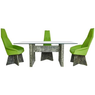 Adrian Pearsall Brutalist Dining Set - Set of 5