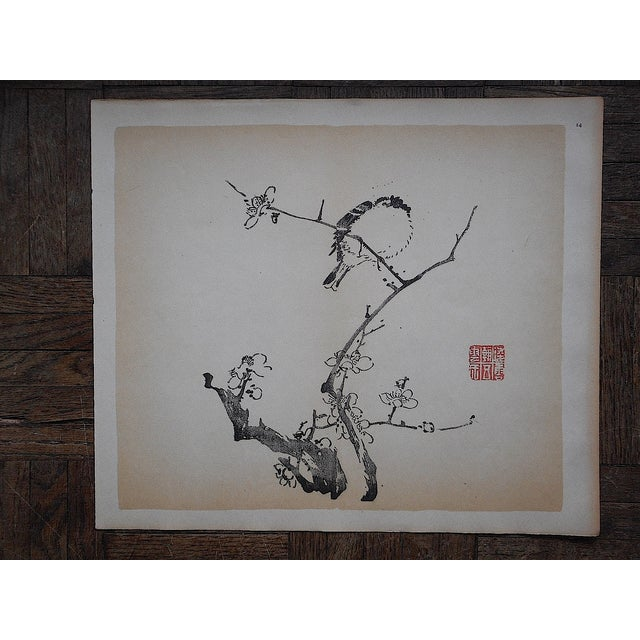 Image of Vintage Chinese Lithograph