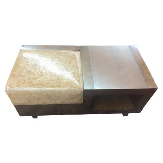 Modern Cushioned Coffee Table