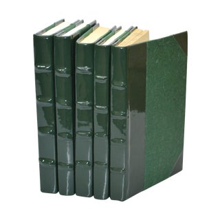 Patent Leather Books Ivy - Set of 5