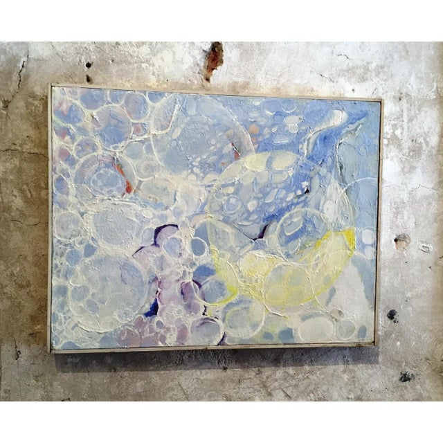 Vintage 1970s Bubbles Painting - Image 2 of 5