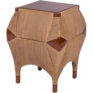 Bill Sofield Baton Cocoon Side Table by McGuire