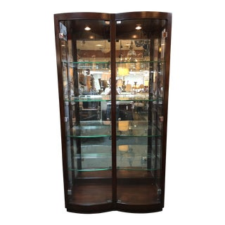 Thomasvile Bow Front Display Cabinet