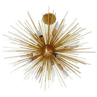 Magnificent Gold Sputnik Chandelier