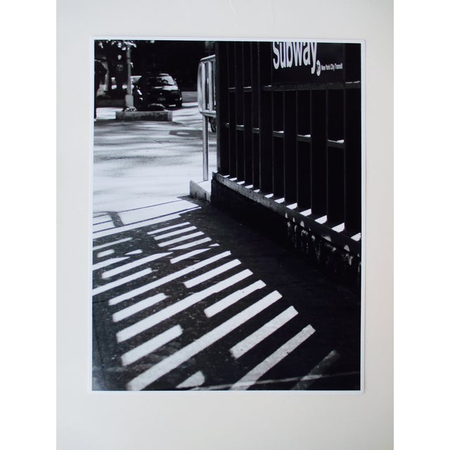 Folding Easel & Original NYC Subway Photograph - Image 9 of 11