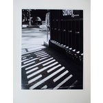 Image of Folding Easel & Original NYC Subway Photograph