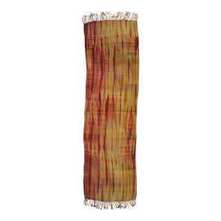 Homespun Tie Dye Table Runner