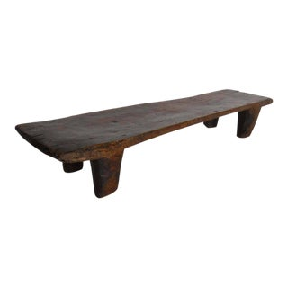 Antique Wood Nupe Bench or Coffee Table