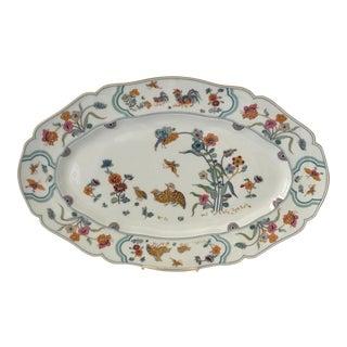 """Haviland Limoge """"Golden Quail"""" Oval Platter"""