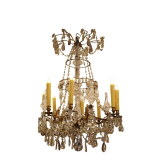 Crystal Chandelier in the Manner of Baguès