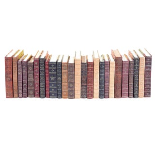 Sarreid Ltd Leather Faux Books - Set of 25