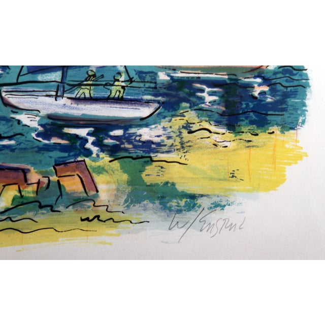 "Wayne Ensrud ""Afternoon Sails"" Lithograph - Image 2 of 3"
