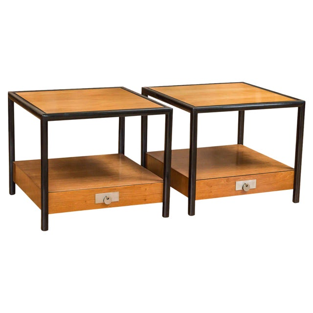 New World End Tables by Michael Taylor for Baker - Image 1 of 8