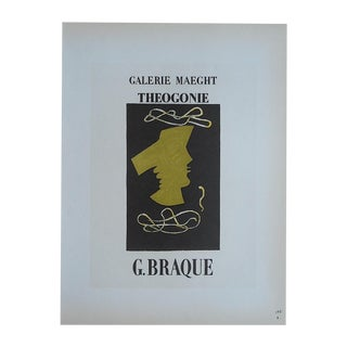 Braque Mid 20th C. Modern Lithograph-Mourlot