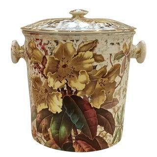 Vintage Lustreware Cache Pot